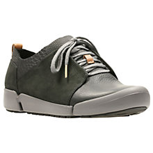 Buy Clarks Tri Bella Lace Up Trainers Online at johnlewis.com