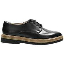 Buy Clarks Zante Zara Lace Up Brogues, Black Online at johnlewis.com