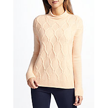 Buy John Lewis Cashmere Cable Knit Jumper Online at johnlewis.com