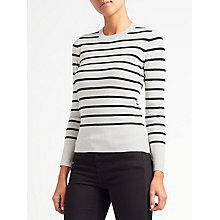 Buy John Lewis Stripe Crew Neck Jumper Online at johnlewis.com