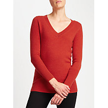 Buy John Lewis Cashmere Deep V Neck Jumper Online at johnlewis.com