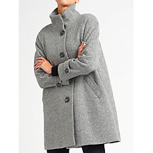 Buy John Lewis Janet Swing Textured Coat Online at johnlewis.com