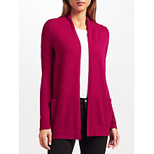 Buy John Lewis Extra Fine Cashmere Cardigan, Berry Online at johnlewis.com