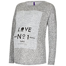 Buy Séraphine Love No.1 Maternity Nursing Top, Grey Online at johnlewis.com