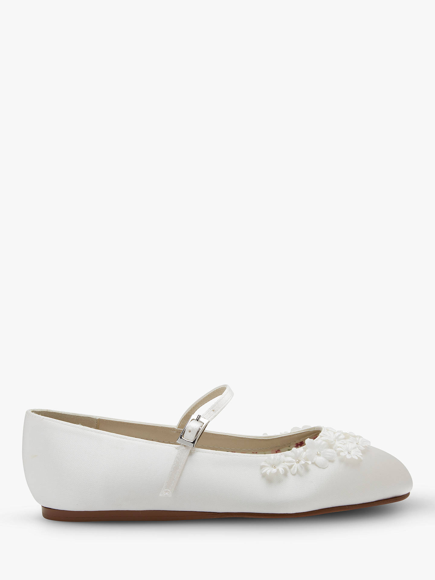 566307b51659 Buy Rainbow Club Children s Summer Satin Bridesmaid Shoes