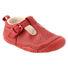 Buy Start-rite Baby Jack T-bar Leather Shoes Online at johnlewis.com
