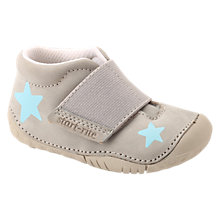 Buy Start-Rite Baby Star Pre-Walker Shoes, Grey Nubuck Online at johnlewis.com