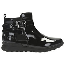 Buy Clarks Mariel Sky Ankle Boots, Black Patent Online at johnlewis.com