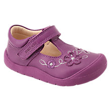 Buy Start-rite Children's Mia First Shoes, Berry Online at johnlewis.com