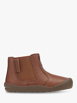 Start-rite Children's Leather First Chelsea Boots, Tan