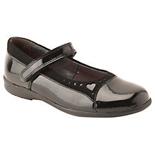 Buy Start-rite Children's Emilia Mary Jane Shoes, Black Patent Online at johnlewis.com