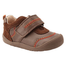 Buy Start-rite Children's Zak First Shoe, Brown Online at johnlewis.com