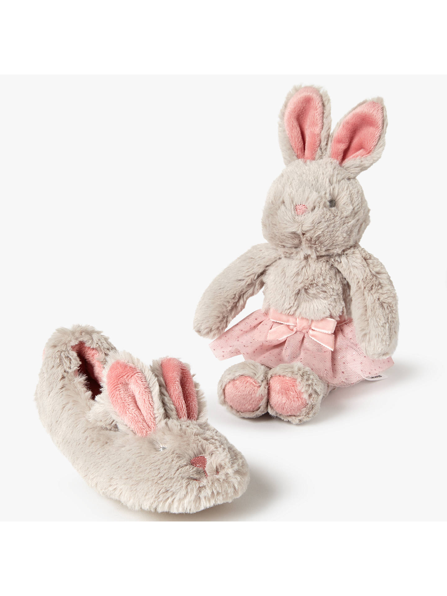99d161dfe70 Buy John Lewis Children s Bunny Ballet Slippers Gift Box