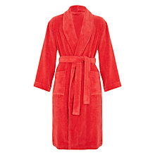 Buy John Lewis Super Soft & Cosy Cotton Bath Robe Online at johnlewis.com