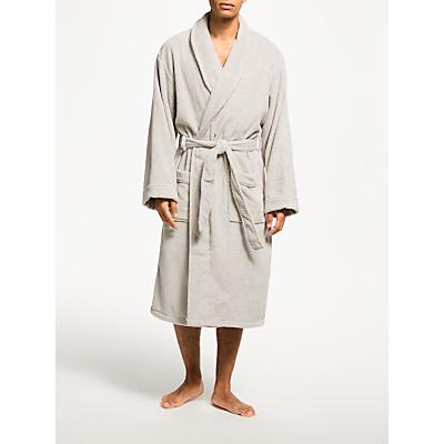 John Lewis Super Soft & Cosy Cotton Dressing Gown