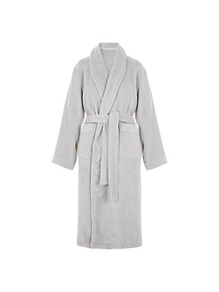 fe1cb5419f John Lewis   Partners Super Soft and Cosy Unisex Cotton Bath Robe