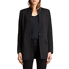 Buy AllSaints Ilia Eryn Blazer, Black Online at johnlewis.com