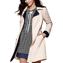 Buy Yumi Swing Hemline Trench Coat, Beige Online at johnlewis.com