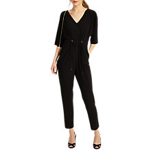 Buy Phase Eight Versillia Jumpsuit, Black Online at johnlewis.com