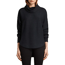 Buy AllSaints Rio Roll Neck Jumper Online at johnlewis.com