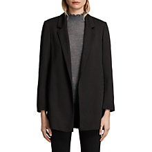 Buy AllSaints Alexia Laced Blazer, Black Online at johnlewis.com