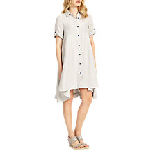 Buy Phase Eight Roxie Linen Dress, Grey Online at johnlewis.com