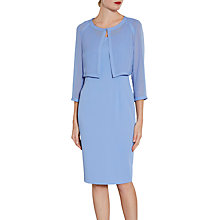 Buy Gina Bacconi Crepe Dress And Chiffon Jacket Online at johnlewis.com