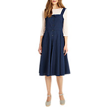 Buy Phase Eight Chambray Darcie Dress, Dark Chambray Online at johnlewis.com