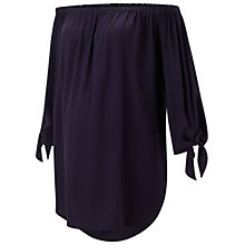 Buy Isabella Oliver Caiti Off Shoulder Maternity Top, Navy Online at johnlewis.com