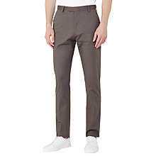 Buy Reiss Statten Slim Fit Suit Trousers, Taupe Online at johnlewis.com