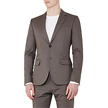 Buy Reiss Statten Slim Fit Suit Jacket, Taupe Online at johnlewis.com