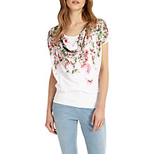 Buy Phase Eight Hydrangea Print Top, Multi Online at johnlewis.com