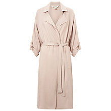 Buy Miss Selfridge Fluid Mac, Mink Online at johnlewis.com