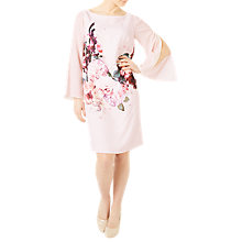 Buy Jacques Vert Petite Kyoto Bloom Tunic Dress, Pink/Multi Online at johnlewis.com