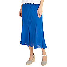 Buy Phase Eight Jennie Flared Skirt, Persian Blue Online at johnlewis.com