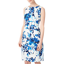 Buy Precis Petite Lilah Print Shift Dress, Blue/Multi Online at johnlewis.com