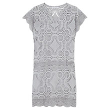 Buy Gerard Darel Petal Dress, Grey Online at johnlewis.com