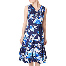 Buy Precis Petite Floral Prom Dress, Multi/Blue Online at johnlewis.com