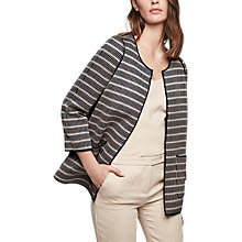 Buy Gerard Darel Voltaire Jacket, Navy Blue Online at johnlewis.com