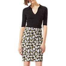 Buy Jigsaw Poppy Fields Pencil Skirt, Golden Olive Online at johnlewis.com