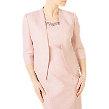 Buy Jacques Vert Petite Textured Jacket, Pastel Pink Online at johnlewis.com