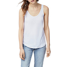 Buy Warehouse Swing Vest Top, White Online at johnlewis.com