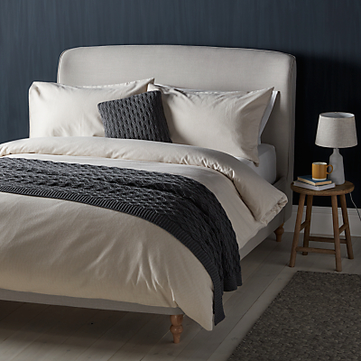 John Lewis Croft Collection Euan Stripe Brushed Cotton Bedding