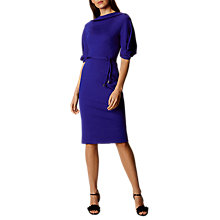 Buy Karen Millen Tassel Waist Pencil Dress, Blue Online at johnlewis.com