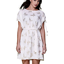 Buy Yumi Foiled Butterfly Sheer Day Dress, Ivory Online at johnlewis.com