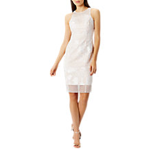 Buy Coast Xanthia Artwork Dress, Ivory Online at johnlewis.com