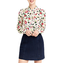 Buy Oasis Spring Floral Shirt, Multi Online at johnlewis.com