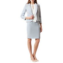 Buy Hobbs Carrie Jacket, Pear Blue Online at johnlewis.com