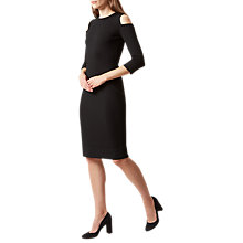 Buy Hobbs Catrina Dress, Black Online at johnlewis.com
