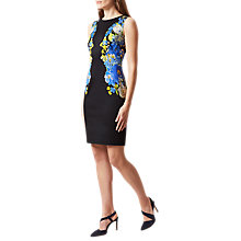 Buy Hobbs Natasha Dress, Navy/Multi Online at johnlewis.com